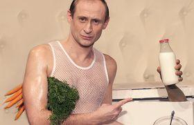 «Путин иБиляк— усейфа» (Фото: Архив театра им. Шванды)