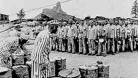 Häftlinge im KZ-Flossenbürg