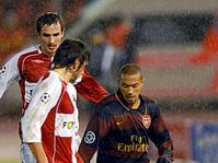 Slavia - Arsenal, photo: CTK