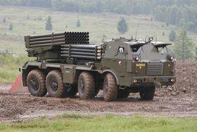 Ракетная установка RM-70, Фото: Архив Армии ЧР