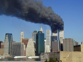 11 de septiembre de 2001 en Nueva York, foto: Michael Foran, Creative Commons 2.0