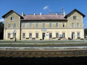 Бывший вокзал Кршимов, Фото: Милан Сыкора