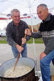 Milos Zeman and Jan Fencl, photo: CTK