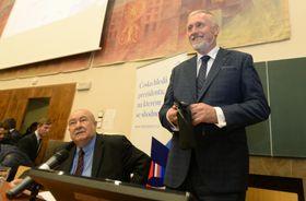 Петр Ганниг и Мирек Тополанек, Фото: ЧТК