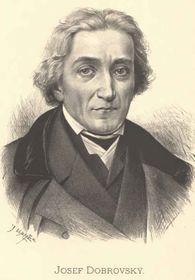 Josef Dobrovský (Foto: Jan Vilímek, Public Domain)