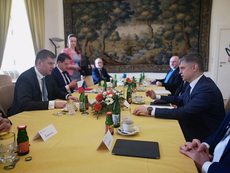 La negociación sobre los archivos de la KGB, foto: Archivo de la Embajada de Ucrania en la República Checa