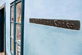 «Здесь жил Кафка» (Фото: Томаш Адамец, Чешское радио)