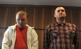 Marek Ženíšek et Petr Hlava, photo: CTK