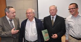 Слева: Александр Даниэль, Владимир Лукин, Эдуард Воробьев и Йозеф Паздерка (Фото: ЧТК)
