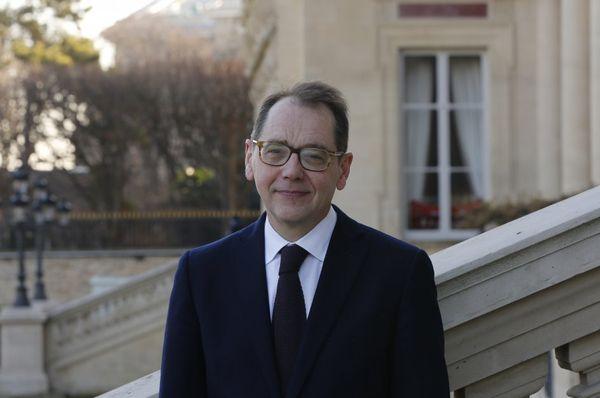Roland Galharague, photo: Site officiel de l'Ambassade de France à Prague