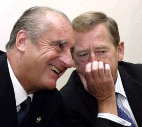 Thomas Klestil und Vaclav Havel (Foto: CTK)