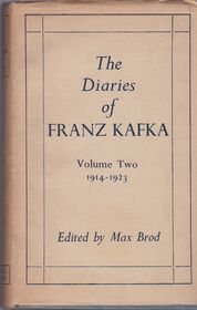'Les journaux de Franz Kafka', photo: Secker & Warburg (1949)