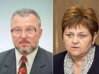 Jozef Kubinyi et Marie Souckova, photo: CTK