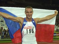 Roman Sebrle se tituló este jueves campeón europeo de la decatlón, foto: CTK