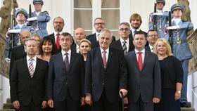 Neue Regierung (Foto: ČTK / Michal Kamaryt)