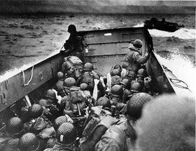 El 'Día D', el 6 de junio de 1944, Normandía (Foto: CTK)