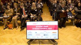 Пражская встреча лидеров чешского экспорта, Фото: ЧТК