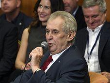 Miloš Zeman, foto: ČTK