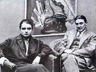 Художница Тоайен и Йиндржих Штырский