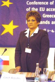 Министр Мария Соучкова (Фото: ЧТК)
