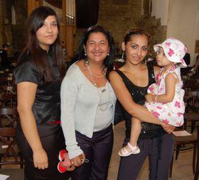 Anna Poláková avec ses deux filles et une petite-fille, photo: Jana Šustová