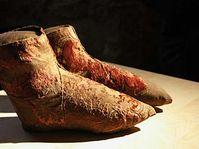 Schuhe in denen Ladislav Posthumus beigesetzt wurde