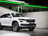 Škoda Kodiaq au Mondial de l'Automobile 2016, photo: ČTK