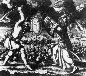Сражение с Турками