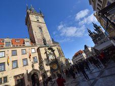 Staroměstské náměstí v Praze, foto: Ondřej Tomšů