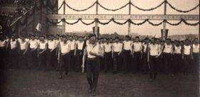 Všesokolský slet vroce 1920