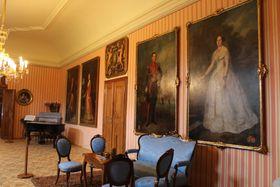 В замке Чехи-под-Коширжем, фото: Архив Чешского радио