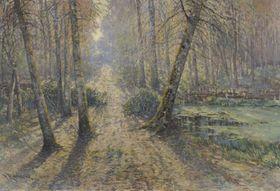 Вацлав Радимский: «Дорога лесом» (Фото: Архив выставки)