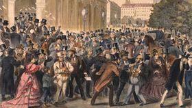 Schwarzer Freitag an der Wiener Börse am 9. Mai 1873