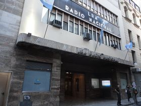Edificio de Radio Nacional, Buenos Aires, foto: Albasmalko, CC BY 3.0