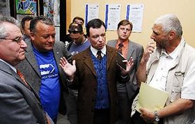 David Rath entre los médicos (Foto: CTK)
