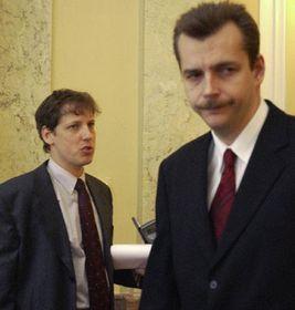 Stanislav Gross y Jaroslav Tvrdik, foto: CTK