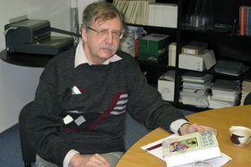 Josef Žemlička, foto: Adriana Krobová, ČRo