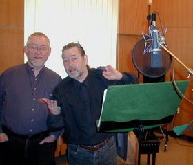 The recording of 'Guardian Angel' in the studio
