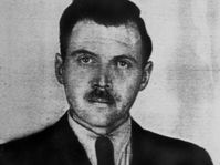 Josef Mengele en Argentine, 1956, photo: public domain
