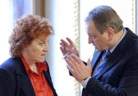 Vlasta Parkanova y Jan Kasal (Foto: CTK)