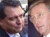 Jiří Paroubek a Mirek Topolánek