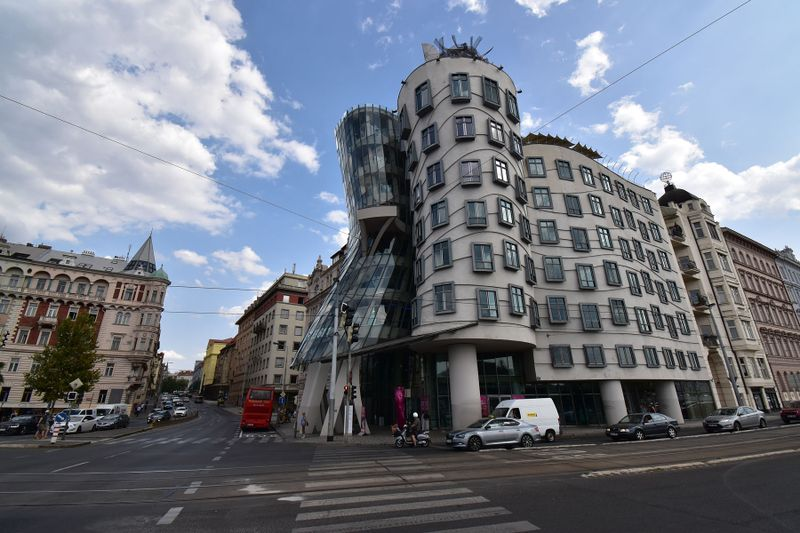Dancing House, photo: Ondřej Tomšů