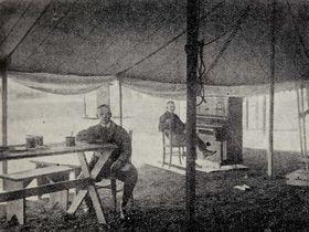 Радиовещание Чехословацкого радио в Кбелих 1923 г., фото: Архив Чешского радио