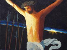 Христос. Картина Вячеслава Ильяшенко