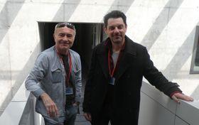 Eric Cénat (à droite), photo: Štěpánka Budková