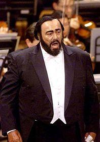 Luciano Pavarotti (Foto: CTK)