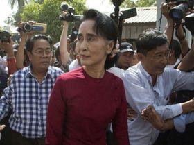 Aung San Suu Kyi, photo: CTK