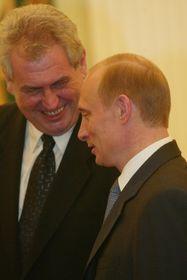 Милош Земан и Владимир Путин (Фото: isifa / Lidové noviny / Tomáš Krist)