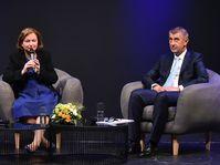 Nathalie Loiseau et Andrej Babiš, photo: Site officiel du Gouvernement tchèques
