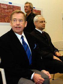 Вацлав Гавел, Владимир Шпидла и Боржек Шипек (Фото: ЧТК